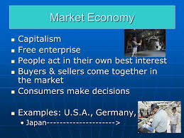 economic systems what type of economic system is it what type of 4 market economy capitalism