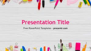 Ppt Background School Free School Powerpoint Template Prezentr Powerpoint Templates