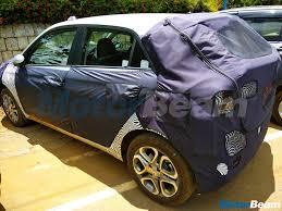 2018 hyundai i20. interesting hyundai 2018 hyundai i20 facelift rear spied up close with hyundai