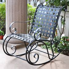 wrought iron rocking chair patio furniture designs outdoor chairs ikea poang rar charles eames kmart