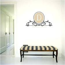 framed monogram letter wall art monogrammed decals why make the best statement on your  on framed monogram letter wall art with framed monogram wall art wall decor