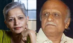Gauri Lankesh, Mm Kalburgi Were Killed By Same Pistol, Finds ...