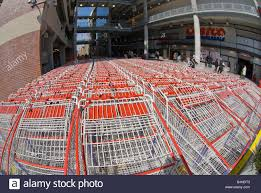 costco whole stock photos costco whole stock images alamy carts lined up outside a costco whole store at a mall in new york on saturday