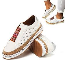 2019 New Slide Hollow-Out Round Toe <b>Casual Women Sneakers</b>
