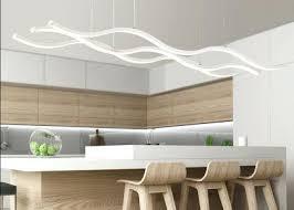 modern bar lighting. Modern Bar Lighting 3 Wave Pendant Ceiling Light Fixture Bright Watt Led Breakfast .