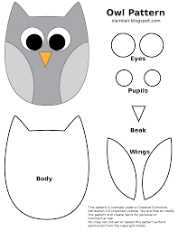 Owl Pillow Pattern Fpf Owl Patternpng Google Drive Printables For Free