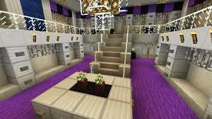Minecraft Closet Design Minecraft Large Closet Walk In Purple Chandelier Two Story