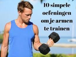 bovenarmen trainen