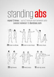 20 Stomach Fat Burning Ab Workouts From Neilarey Com