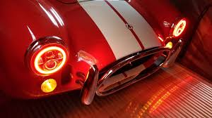 Red Halo Lights For Mustang