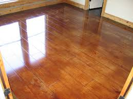 how to stain concrete floor interior