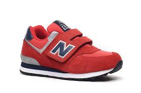 new balance toddler shoes. fashion new balance kv574pny red navy silver kids shoes toddler