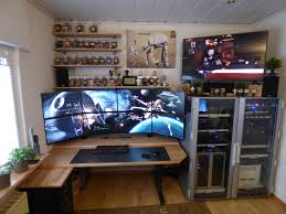 home office technology. Homeoffice Of A Software Developer And Series Junky. (first Posting) Home Office Technology