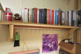 picture of simple wall mounted bookshelf