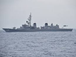 ins china malabar naval exercise cautious china listens as india us and