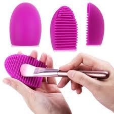 cosmetic brush cleaning glove silicone makeup washing brush