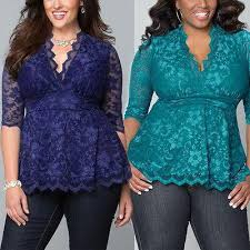 5XL <b>Large sizes women Half</b> Sleeve Lace Blouses