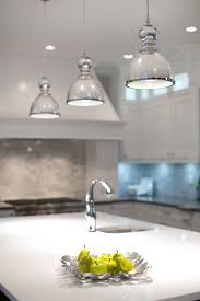 large clear glass pendant lights mercury glass pendant light kitchen contemporary with