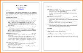 Resume Model For Accountant Senior Accounting Professional Resume