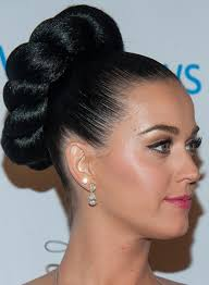 mive twisted and textured high bun