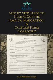 jamaican immigration form top mistakes made filling out the jamaica immigration form