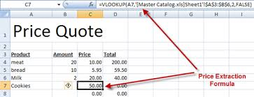 Excel Examples Xls Speeding Up Your Price Quotes With Microsoft Excel Cogniview