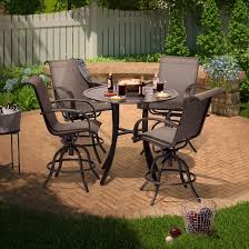 target threshold outdoor dining set. camden 5pc balcony height dining set - threshold™ target threshold outdoor