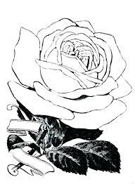 Rose Coloring Pages Printable Roses Printable Coloring Pages Heart