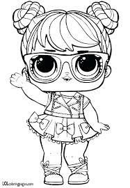 Lol Doll Coloring Pages That You Can Print Out Surprise Doll
