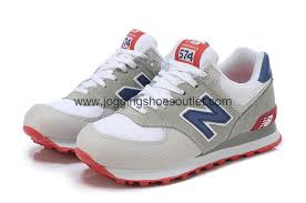 new balance shoes 574 mens. new balance 574 retro-running lifestyle men shoes grey / white mens b