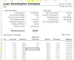 Amortization Schedule Calculator Excel Sample Schedules Loan Payment