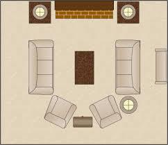 symmetrical living room arrangement furniture arranging tool