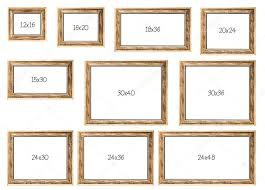 the ten most popular ing frames dimensions stock photo