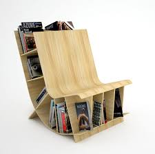 modern wood furniture design books. bookshelf design for modern interior : unique wodden material small book space multipurpose chair wood furniture books