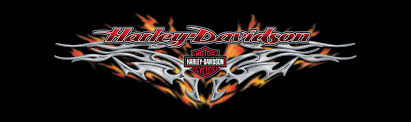 70032 harley davidson rear window graphic decal steel heat