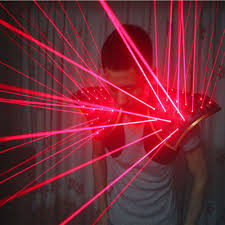 Star Light Laser Dancer Stars Beam Galaxy 532nm Red Green Laser Suit With 20pcs