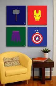 Lovely 10 Best Marvel Avengers Wall Decor Ideas | Home Design And Interior