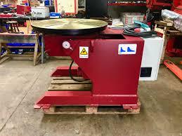 new 1 tonne swl heavy duty welding positioner