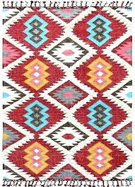 blue and gold area rug red white rugs black