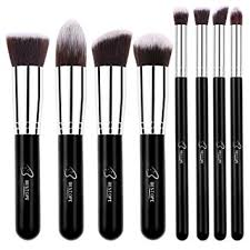 bestope makeup brushes 8 pieces makeup brush set professional face eyeliner blush contour foundation cosmetic brushes