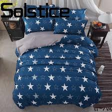 solstice home textile new printing eco friendly and comfortable mixed material bedding sheets duvet cover pillowcase king duvet cover clearance