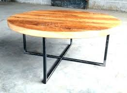 round wood metal coffee table round wood and metal coffee table wooden round coffee table decoration