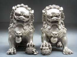 Image result for chinese dogs statues