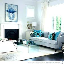 Brown And Turquoise Living Room Interesting Turquoise Living Room Chair Summer Trend Living Room Furniture In
