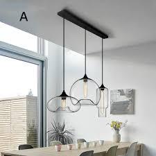 modern style 3 light pendant light with