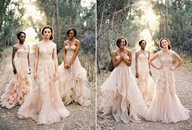 blush tulle wedding dress tips color combination for blush