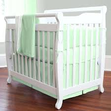 mint green baby bedding mint green 7 pieces set crib bedding baby bedding set sweet chevron mint green baby bedding