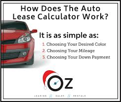 Auto Lease Calculator Get The Best Car Lease Deals In December 2017
