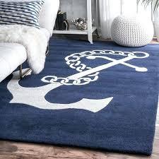 navy handmade anchor wool area rug nuloom moroccan trellis