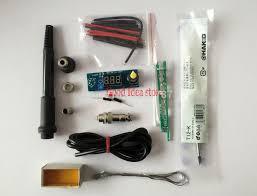 product description diy kits digital led soldering iron